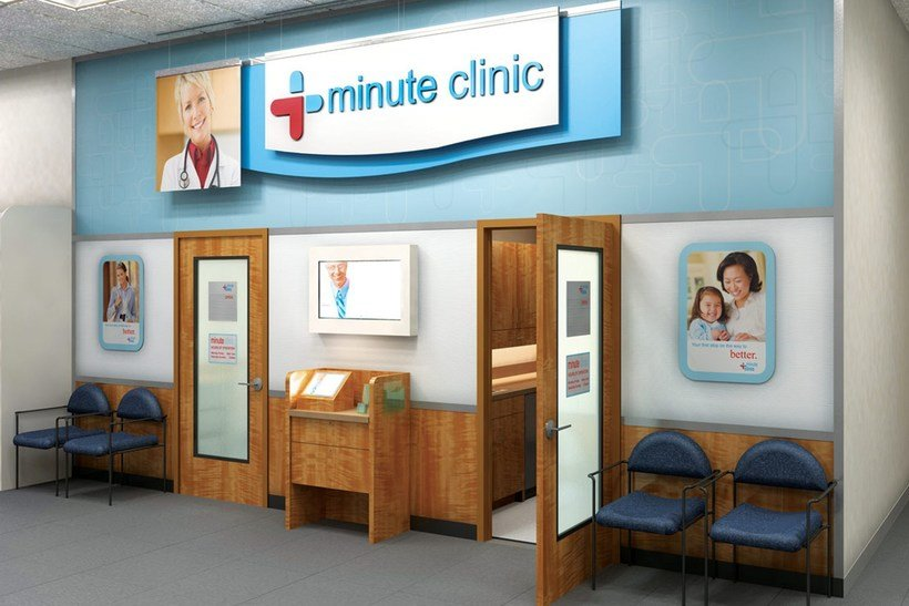 CVS MinuteClinic office inside the store